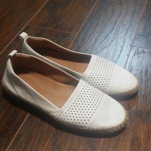 Clark's artisan esperiallies white loafers size 10